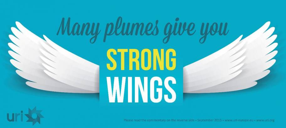 Many plumes give you strong wings!