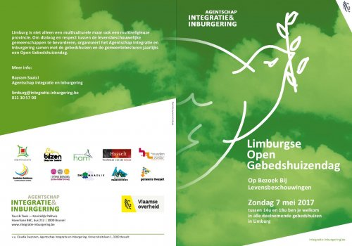 Open Gebedshuizen dag - Open Prayer Houses Day in Belgium