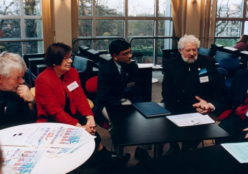 20th anniversary URIE throwback - URI Europe launch at the European Parliament 26th February 2002