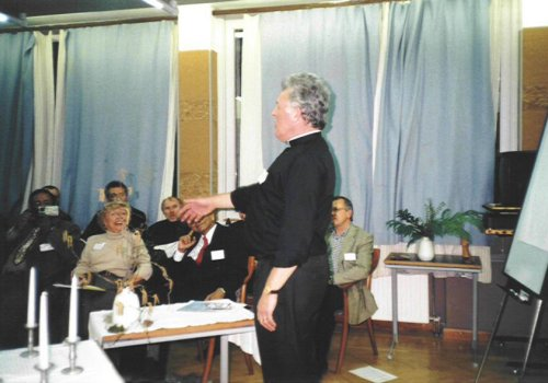 20th anniversary URIE throwback - Signing the URI Charter in Budapest in 2000 at Dobogokö in Hungary
