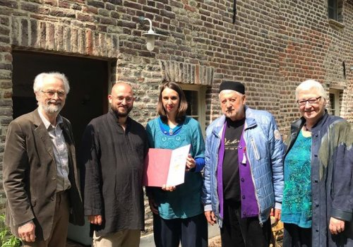 URI Europe members visited interfaith group in Belgium
