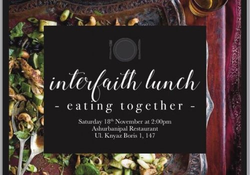 URI Bulgaria and partners together on an Interfaith lunch