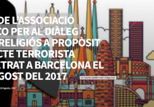 In Response to the Terrorist Act Perpetrated in Barcelona on August 17