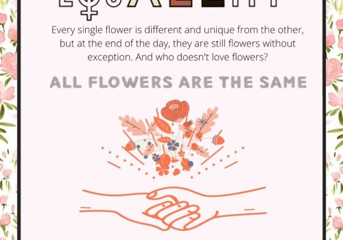 All flowers are the same