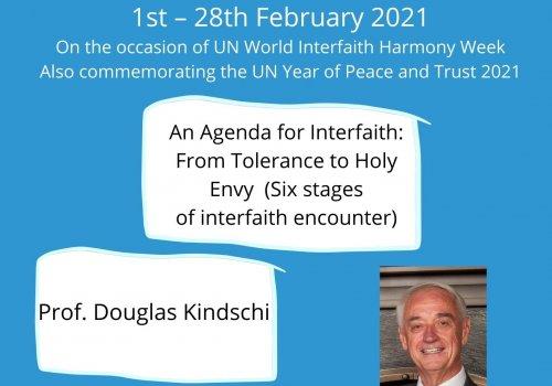 An Agenda for Interfaith: From Tolerance to Holy Envy  - Baraza-URI Europe webinar series