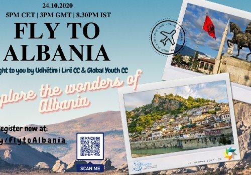 URI Global Youth CC and Udhetim i Lire URI Europe CC organized virtual flight to Albania