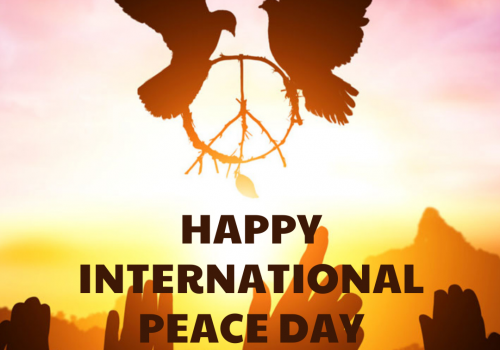 Intrenational Day of Peace celebrations by URI Europe CCs