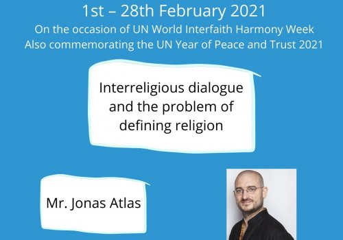 Interreligious dialogue and the problem of defining religion - Baraza-URI Europe webinar series