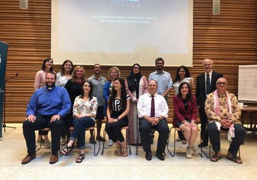 URI Europe representatives at KAICIID Europe Fellows training