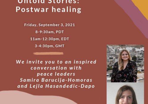 Euphrates Institute Community Call - featuring Samira Barucija-Homoras and Lejla Hasandedic-Dapo