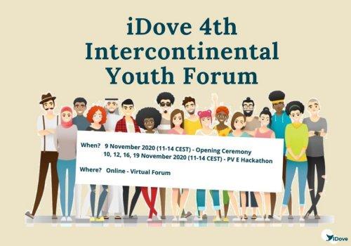 URI Europe representative at the 4th Intercontinental Youth Forum of iDove