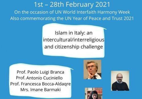 Islam in Italy: an intercultural/interreligious and citizenship challenge - Baraza-URI Europe webinar series