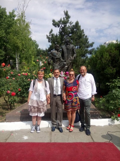 URI Global Trustee on study trip on Odesse
